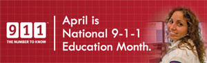 Thumbnail image for VECC Is Promoting 9-1-1 Awareness and Education in April
