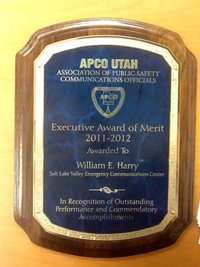 Thumbnail image for Executive Award of Merit Nomination for William E. Harry